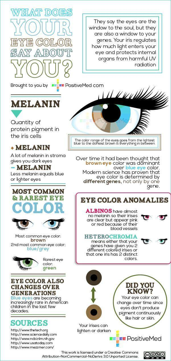 Others Want Eyeglasses That Compliment Their Eye Color At American Vision The Court We Can Do Both For You Found This Infographic From PositiveMed